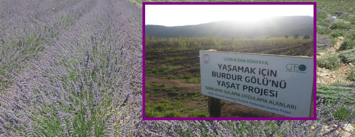 Lisinia'dan Dünya'ya; Yasamak için Burdur Gölü'nü Yasat